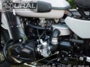 Ural Gear-Up Custom Gray-Black (Powder-coated), Ural of New England, 978-263-9000