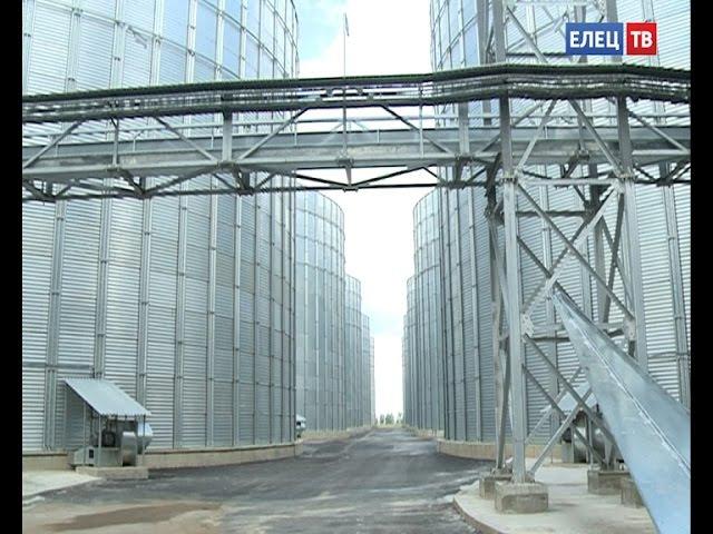 В ОЭЗ Елецпром идут пуско наладочные работы на уникальном зернохранилище