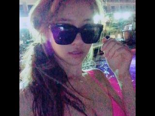 """김민영 on Instagram: """"🙋👙👭🙈☺️😝 #셀피 #selfie #비키니 #씨메르 #스파 #외국인 #까메오"""""""