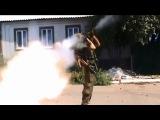 Видео реального боя отряда Моторолы в Миусинске.