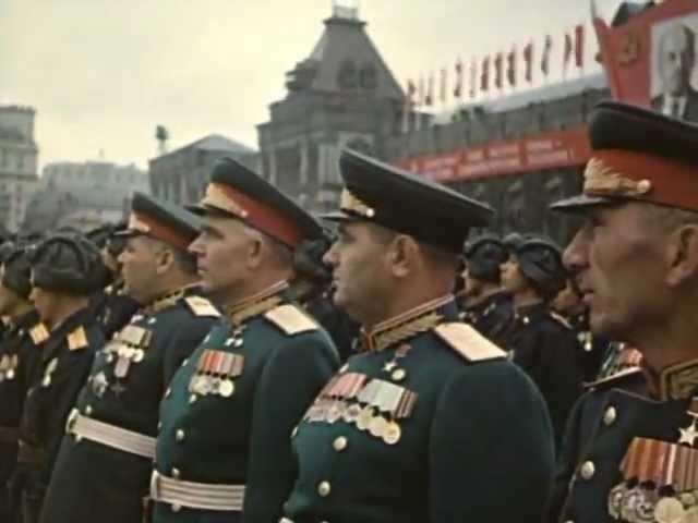 Парад Победы 1945 года на Красной площади в Москве