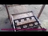 Как сделал станок для шлакоблоков How do cinder block machine