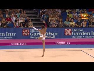 Чемпионат мира по художественной гимнастике 2015 в Штутгарте!