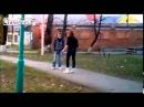best ever Russian KARATE SHOTOKAN girl woman vs Man boy Kicks Beats him in Street Fight!