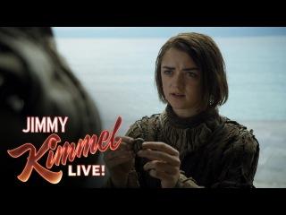 Maisie Williams Hasn't Read the Game of Thrones Books