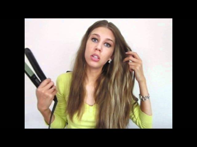 утюжок-методы накручивания волос