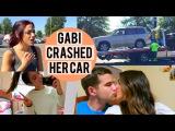 GABI CRASHED HER CAR!!! Jerry visits me + DORM TOUR!