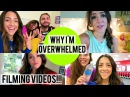 WHY I'M OVERWHELMED! Filming videos Best friend Night!