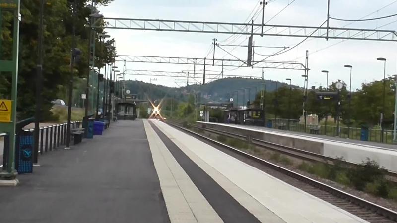 Svenska tag pa spar 18 Partille station