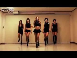 Waveya T-ara (티아라) Cry Cry (웨이브야) korean dance group