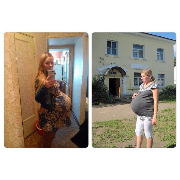 беременные двойней фото