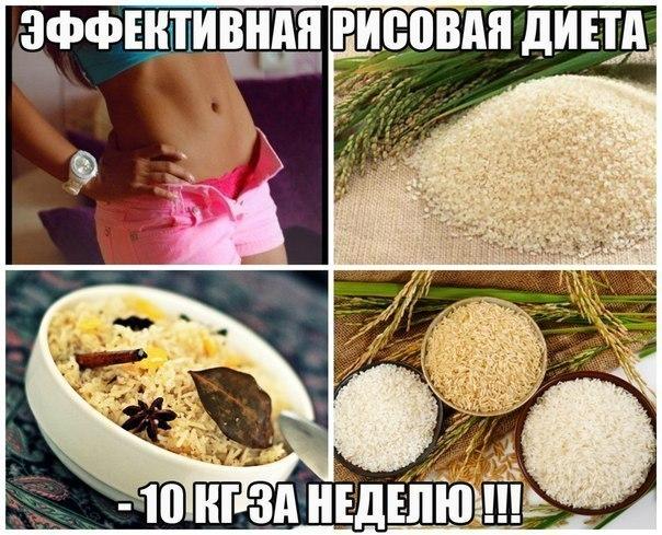 ЭФФЕКТИВНАЯ РИСОВАЯ ДИЕТА (-10 кг за 7 дней)