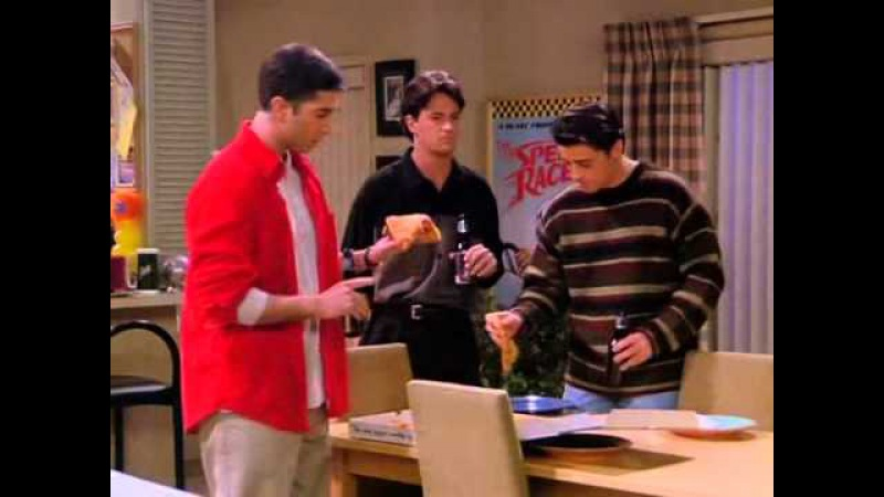 Joey, Chandler and Ross's Finest Moment: Marcel's Music