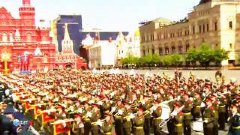 Зомбирование людей парадами. Ложь в парадах Дня Победы.