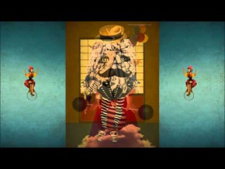 Волшебный мир цирка Иллюстрации by Anastasia Kurbatova 2014 г