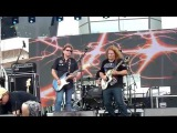 Frank Hannon with Dave Meniketti - MSC Divina - Monsters of Rock Cruise - 4-20-2015