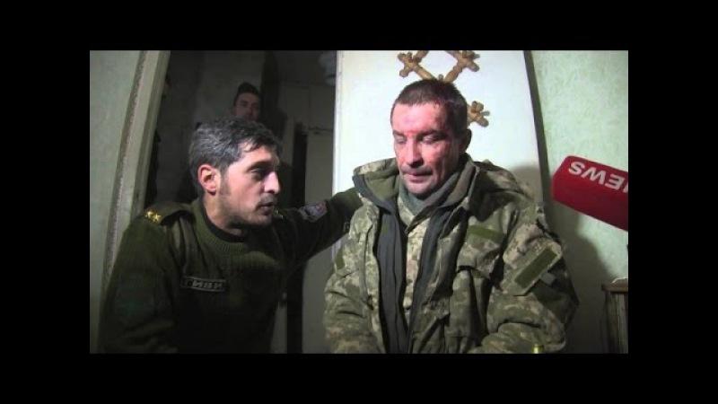Бытие пленных укров в Донецке. Полная версия с Гиви