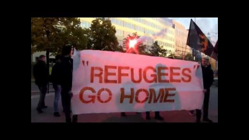 Nordisk Ungdom - Refugees Go Home