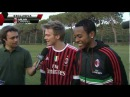 Pato, Robinho e Thiago Silva intervistano Michel Telò Ai Se Eu Te Pego a Milanello
