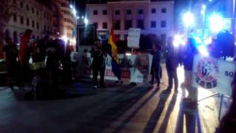 MARCHAS POR LA DIGNIDAD, ¡VOLVEMOS A LAS CALLES! ALICANTE España 22 10 2015