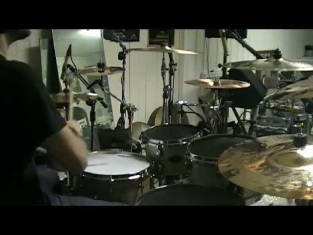 Mike Heller - Malignancy - Cataclysmic Euphoria STUDIO Drum Cam