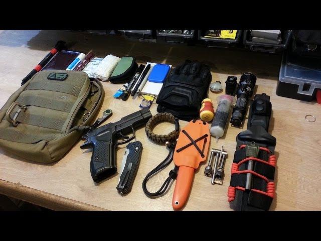 Мой EDC набор (на конкурс Tactical)