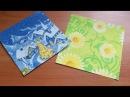 Как Сделать Бумагу Для Поделок Оригами Своими Руками. How To Make Paper Origami