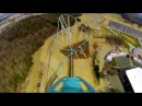 Fury 325 front seat on ride HD POV Carowinds
