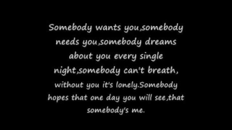 Enrique Iglesias Somebody's Me Lyrics