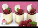 Raspberry Dessert Cups with White Chocolate Cheesecake - Recipe by Cupcake Addiction