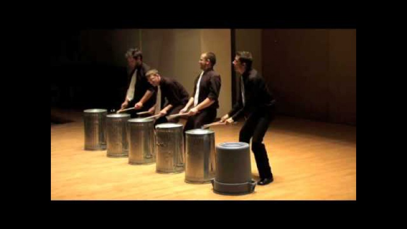 TorQ Percussion Quartet plays Stinkin' Garbage, by E.Argenziano