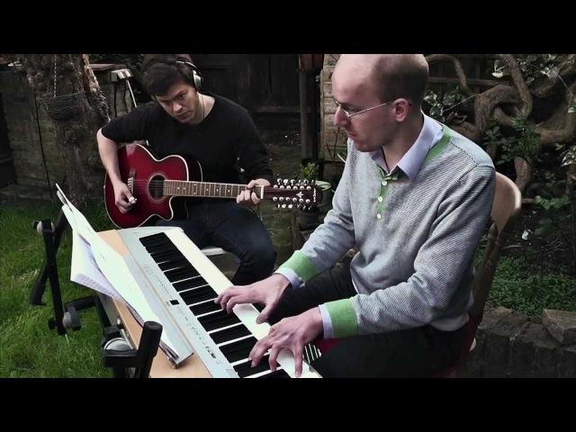 Tristram Theme - Diablo (12 String guitar and Piano)
