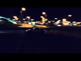 Nissan Silvia S15 LS1 making stupid powersliding on a parking lot