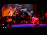 Razzy D vs Kid Glyde - Footwork Finals - Massive Monkees Day 2014 VK.COMBREAKS_COM
