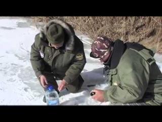 Зимняя рыбалка в Астрахани видео Диалоги о рыбалке - 2 серия