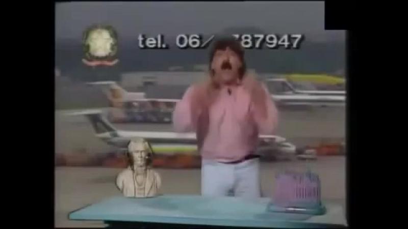 Roberto Baffo da Crema e la sua televendita - Cielito Lindo - The breathing version