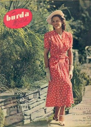 Бурда №4 1950 год