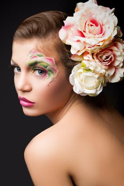фантазийного макияжа!