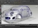 Maya 3D car modeling part 1