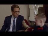 Роберт Дауни младший, в образе Тони Старка, представил 7-летнему мальчику протез Железного Человека