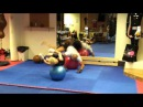 How to use a fitball for MMA training at Beatbox Gym, Woking