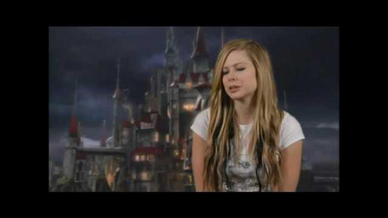 Avril Lavigne Alice in Wonderland Interview