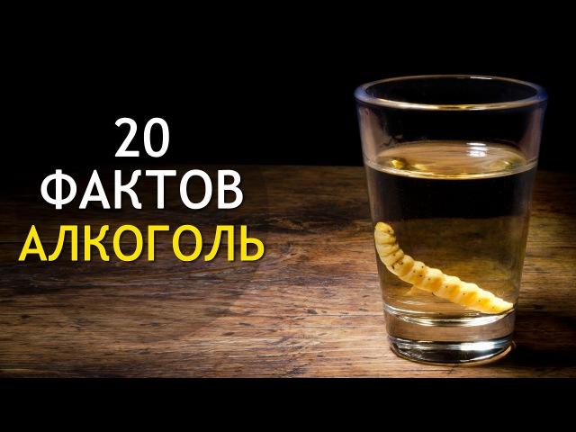 АЛКОГОЛЬ: 20 Фактов Об Алкоголе! ИНТЕРЕСНОСТИ