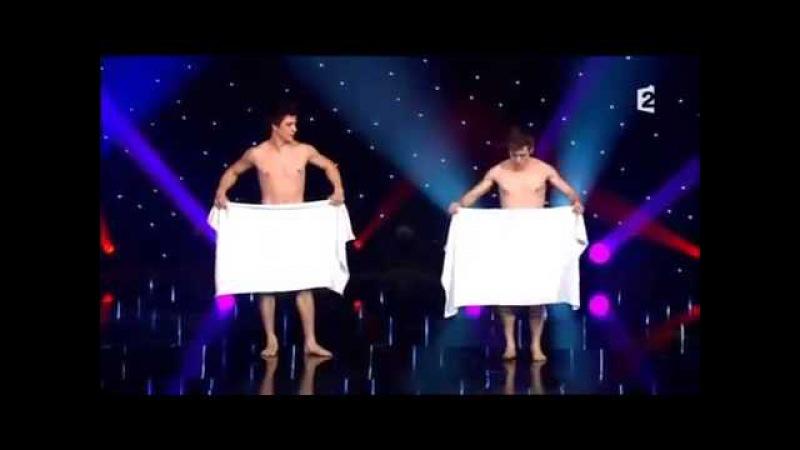 Танец с полотенцами Французы взорвали зал смотреть онлайн без регистрации
