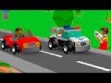 Мультики про машинки. ЛЕГО мультики -  Супер полицейский . LEGO Juniors.