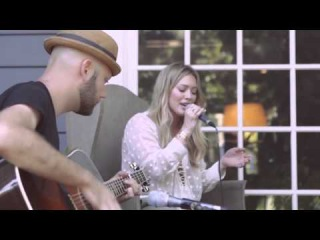 Hilary Duff - Tattoo (Acoustic) Preview