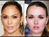 Jennifer Lopez Oscars 2015 Hair &amp Makeup Tutorial