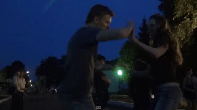 Бачата вечерняя на опен-эйре в Парке Белинского ЛунаКубА