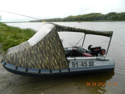 чем заякорить надувную лодку