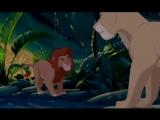 Отрывок из мульта Король-Лев ( старый перевод)песня Тимона и Пумбы
